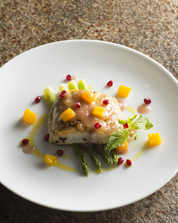how to cook sea bass fillets in the oven